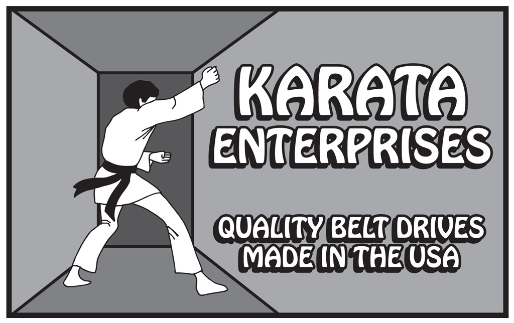 KARATA ENTERPRISES is a company with over 33 years of experience in the design, development and manufacture of premiere-quality belt drive systems.
